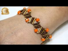 Schmuck Design-How to Semiramis Armband machen-TUT Diy Jewellery Designs, Diy Jewelry Tutorials, Diy Jewelry Making, Jewelry Design, Jewelry Accessories, Diy Schmuck, Schmuck Design, Jewelry Model, Fine Jewelry