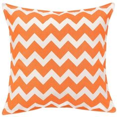 Greendale Home Fashions Chevron Throw Pillow (135 CAD) ❤ liked on Polyvore featuring home, home decor, throw pillows, orange, chevron throw pillows, tangerine throw pillows, orange chevron throw pillows, chevron stripe throw pillows and orange home decor