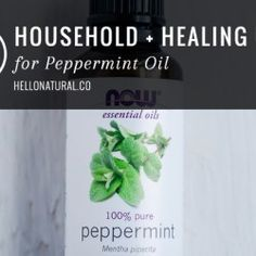 21 Household + Healing Uses for Peppermint Oil