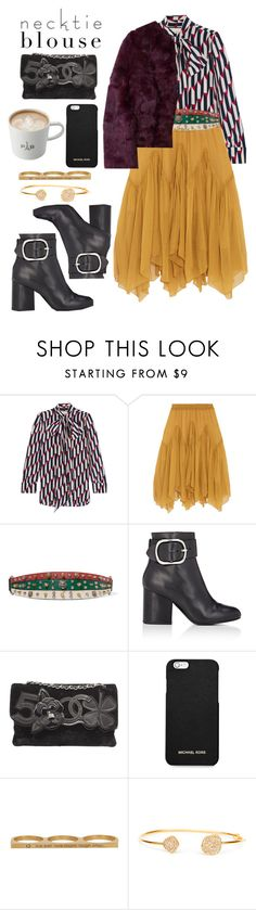 """""""Sin título #1110"""" by meelstyle ❤ liked on Polyvore featuring Gucci, Chloé, Antik Batik, Alexander Wang, Chanel, MICHAEL Michael Kors and Jaeci"""
