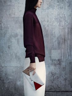 Minimalist Architectural Attire : Vogue China 'New Minimalism' Editorial Minimal chic || @sommerswim