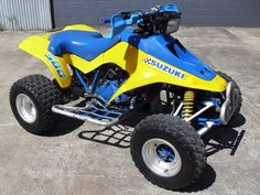 1990 SUZUKI Quadzilla LT500. Apparently there were as little as 20 of these brought into Australia and came with their own purpose built trailer. Only ever saw one once in the flesh and another in a Motorcycle Trader magazine many years ago. Still asking $8000 for it back then!!