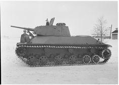 Советский лёгкий танк T-50