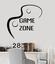 Details About Vinyl Wall Decal Gamer Skull Headphones Quote Video - Wall stickers for bedrooms teens