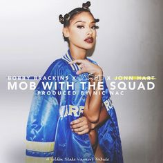 "Bobby Brackins Ft. Iamsu! & Jonn Hart - ""Mob With the Squad"" [Music]- http://getmybuzzup.com/wp-content/uploads/2015/06/Bobby-Brackins.png- http://getmybuzzup.com/bobby-brackins-iamsu-jonn-hart/- California's Bobby Brackins is back with another hit – this time enlisting fellow Bay Area artists Iamsu!,Jonn Hart, and acclaimed producer/beatmaker Nic Nac for ""Mob With the Squad,"" which premiered viaThe FADER. A tribute to the Oakland Warriors'"