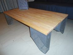 Kitchen top to coffee table - IKEA Hackers