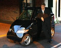 Celebrities and their Cars: George Clooney has an interesting choice – the two seater electric Tango 600.