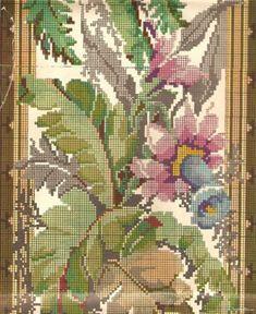 Gallery.ru / Фото #114 - Greek embroidery - GWD Cross Stitch Borders, Cross Stitch Patterns, Stitch 2, Cross Stitch Embroidery, Needlepoint, Needlework, Tapestry, Crafts, Painting