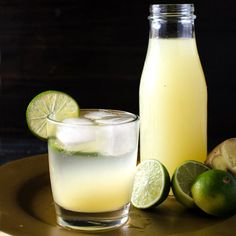 Cool, refreshing, sweet, tart homemade ginger limeade with the spicy warmth of ginger - the perfect panacea for all your summer woes!