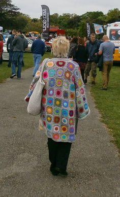 CROCHET: WK 4 Granny Square Coat