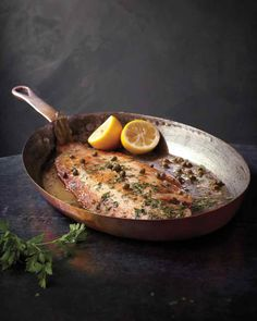 This recipe is inspired by the one in Julia and Jacques Cooking at Home (copyright © Julia Child and Jacques Pepin, published by Alfred A. Knopf). Ask your fishmonger to clean the fish for you.