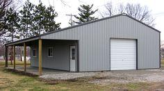 Visit the post for more. Pole Barn Shop, Pole Barn Garage, Pole Barn House Plans, Garage Loft, Pole Barn Homes, Barn Plans, Garage House, Dream House Plans, Garage Plans