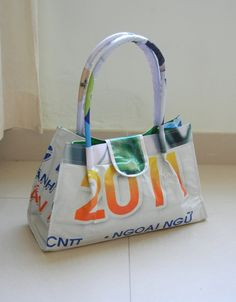 Bag Made From Recycled Vinyl Billboard Material