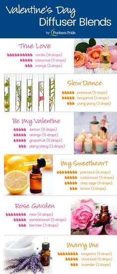 Valentine's Day Diffuser Blends - Healthy Perspectives