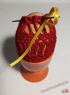 Horgolt tojástakaró 7. - Kreatív+Hobby Alkotóműhely Stuffed Peppers, Crochet, Stuffed Pepper, Ganchillo, Crocheting, Knits, Stuffed Sweet Peppers, Chrochet, Quilts