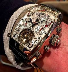 Watches and Things — Franck Muller Aeternitas Mega 4 Tourbillon Men's Watches, Cool Watches, Fashion Watches, Mens Dress Watches, Amazing Watches, Beautiful Watches, Swiss Army Watches, Expensive Watches, Elegant Watches