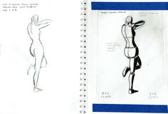 2015 Figure Drawing - Citrus College Pose 2 of 3 Block figure overlay over selected gesture drawing from previous class (copy on left) #arielsartwork #figuredrawing #citruscollege #markwessel #gesture #gesturedrawing #pencil #graphite #sketch #blockfigure #light #shadow #overlay #anatomy #drawing #bodylanguage #lifedrawing #model #modeldrawing #nude #jenniferfabospatton #art
