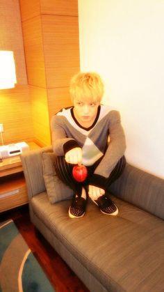 Kim Jaejoong - Twitter 140829... He's doing Death Note