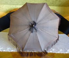 1845 Romantic Period Umbrella antique parasol antique