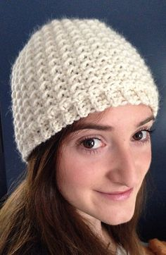 Ravelry: Oh So Seedy free Beanie pattern by Sarah Lora in all sizes