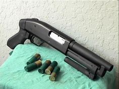 """Serbu Super Shorty 6.5"""" 12GA $849.99  If you like the idea of concealed carry with a 12-gauge, or like a lot of """"bang"""" in a small package, or just like a lot of muzzle flash, then this is the gun for you.  (NOTE: Not available in CA and some other states. Federal background check required.)"""