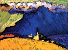 Wassily Kandinsky, 1909