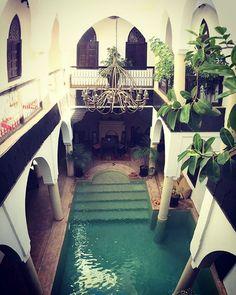 Riad in Marrakech  #Morocco #Marrakech #roadtrip #riad #love #romantic #30degrees #travel