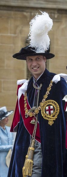 Prince William,  Order of the Garter