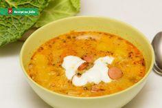 A frankfurti leves olyan gazdag, hogy akár főétel is lehetne. Diet Recipes, Cooking Recipes, Healthy Recipes, Baked Rigatoni, Best Meatballs, Hungarian Recipes, Hungarian Food, Food Words, Frankfurt