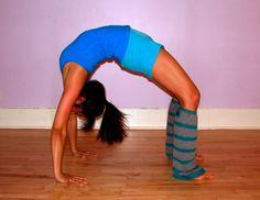 Yoga Goal 1: Advanced Bridge Pose, yeah! DONE!