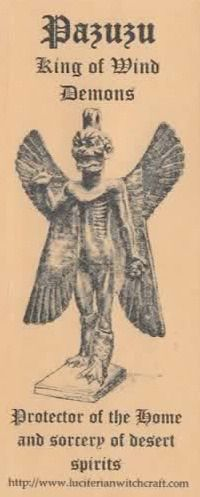 Pazuzu, King of Wind Demons is the protector of the home and the instructor of…