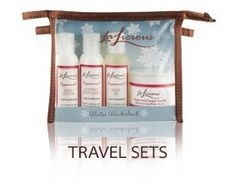 Lalicious Winter Wonderland Travel Kit - Peppermint by LaLicious. $28.00. This essential ensemble includes four 2 oz. size travel friendly products available in your favorite scents, all in a clear reusable zippered bag!. This essential ensemble includes four 2 oz. size travel friendly products available in your favorite scents, all in a clear reusable zippered bag! Whipped Body Soap...a skin-softening creamy whipped body wash Sugar Souffle Scrub...an effectiv...