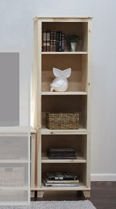 Gothic Cabinet Craft - Media Tower With Shelves, $299.00 (http://www.gothiccabinetcraft.com/media-tower-with-shelves/)