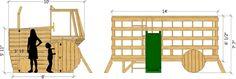 Farm Tractor Play-set Plan