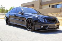 BENZTUNING | The Largest Photo Collection of Mercedes-Benz: Mercedes-Benz W211 E55 AMG RENNtech Shadowline