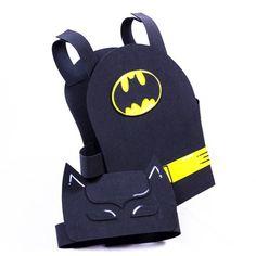 disfraz goma eva batman