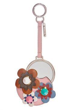 Fendi Fendi Flower Mirror Bag Charm available at #Nordstrom