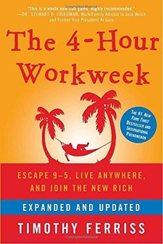 The New York Times bestselling author of The 4-Hour Body shows readers how to live more and work less now with more than 100 pages of new cutting-edge content.Forget the old concept of retirement an...