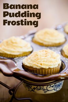 Banana Pudding Frosting - from Cupcake Project