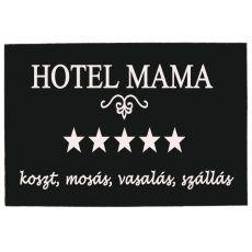 Vicces lábtörlő, Hotel mama