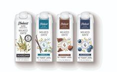 Elmhurst 1925 releases new flavours of single-serve oat milk - FoodBev Media Milk Packaging, Beverage Packaging, Packaging Design, Vegan Gluten Free Desserts, Coffee Mix, Milk Alternatives, Plant Based Milk, Rice Milk, New Flavour