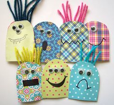 Easy paper finger puppets from GCD Studios.