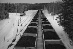 Coal Exports and the Terrible, Horrible, No Good, Very Bad Week Train Car, Train Tracks, Bad Week, Very Bad, Appalachian Mountains, Good Ole, Model Trains, Climate Change, Railroad Tracks