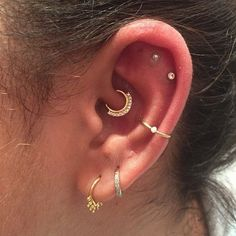 Ear piercings  Ear piercings
