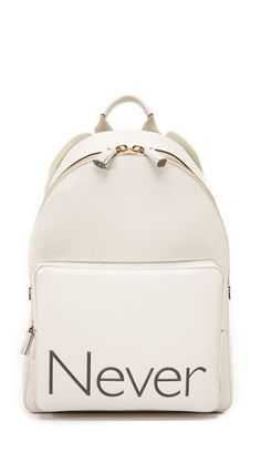 ANYA HINDMARCH Never Backpack. #anyahindmarch #bags #leather #backpacks #