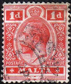 Malta 1914 King George V Fine Used SG 73 Scott 51 Other European and British Commonwealth Stamps HERE!
