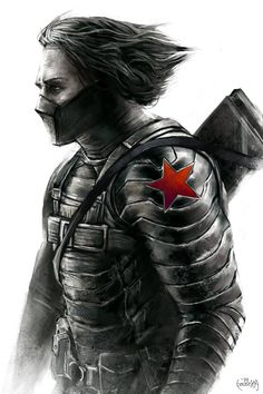 The Winter Soldier by JamesBousema on deviantART