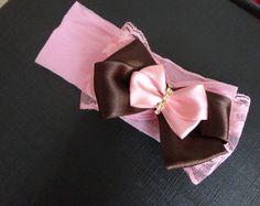 faixa-lacos-marrom-com-rosa-bebe