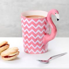 Flamingo, accessories, things, decoration, clothes, cupcake