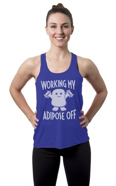 Talk about workout motivation!  Get this comfortable tank top today while it's still available.  Click image to see other colors.